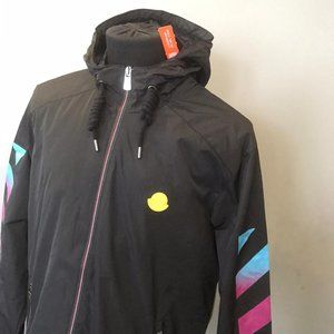 Off-White Moncler mens raincoat 100% polyester